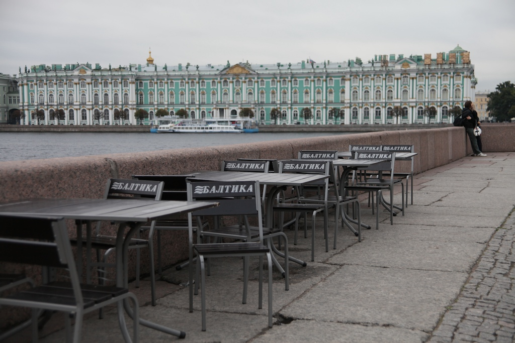 St. Petersburg, Russia and on to the Baltic Sea